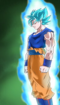 Goku SSJ Blue by Samy-draw