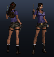 Lara Croft - Africa by legendg85