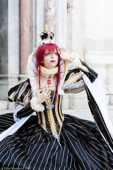 Queen Esther Blanchett - Trinity Blood by oShadowButterflyo