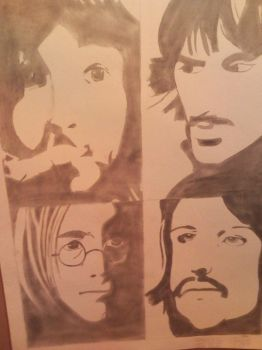 The Beatles by SinfulEnvy88