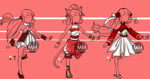 :CLOSED: Outfit Adoptables 8 by MissMignonne
