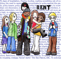 RENT - To days of inspiration by Dannichu
