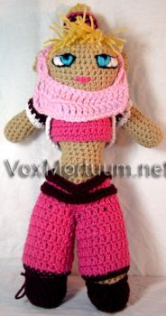 Jeannie Amigurumi Tribute Doll by voxmortuum