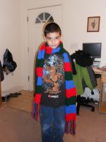 Crochet Scarf Finished by Joce-in-Stitches