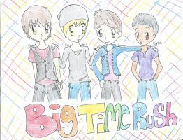 Big Time Rush group picture by xXHappyZombXx