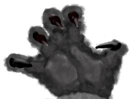Werewolf Paw And Claw by CanuckZD