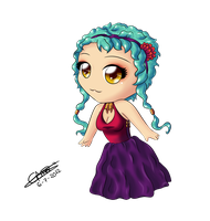 Chibi Layla by GemaStarlight