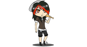 [OC] Chibi Nancy the Killer by ChaoticPuppetMaster