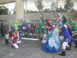 Otakon 2012 - Link Finally Shuts Navi Up by mugiwaraJM