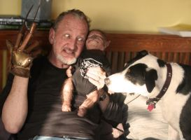 Robert Englund - darn these Pups! by WerePups