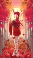 The Scarlet Dawn by Sayuki-hime