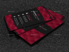 Cubes Corporate Business Card by GreyFoxGR