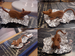 clay rat WIP by mechanicalmasochist
