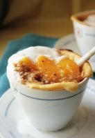 Peach Cobbler-Crumble by sasQuat-ch