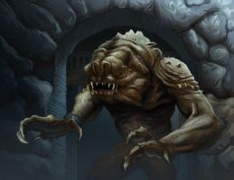 The Rancor by DavidRabbitte