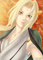 Tsunade - Speed colo by Tyfflie