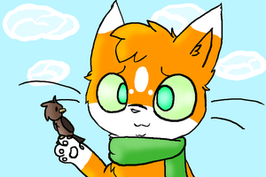 Kyle the cat by X-CoyoteFeathers-X