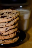 Vegan Chocolate Chip Cookies by bfrena