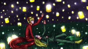 PewDieCry: Lanterns by PrincePhantom