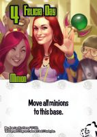Tabletop Day (Felicia Day card) by Mancomb-Seepwood