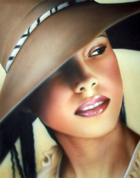 Alicia Keys Large View by Dolcimascolo