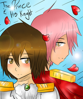 The Prince and His Knight .:Cover:. by Piggy-The-PumpedPig