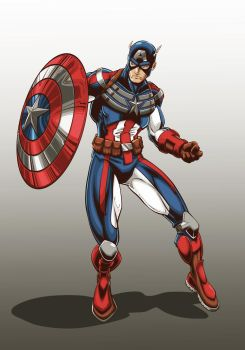Captain America CS by Brian-Robertson