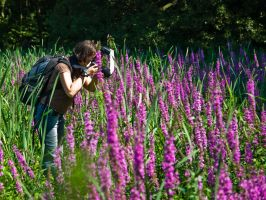 - Photographer at work - by kissesfrom