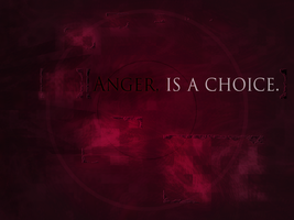 Anger, Is A Choice. by ginjaninja405