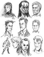 More characters by Sokil-Su