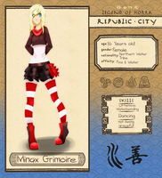 Republic City: Minax Grimoire by Shiiruba