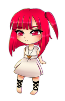 Chibi Morgiana by manu-chann