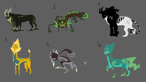 Creature adopts 240pts [Two Left] by Immonia