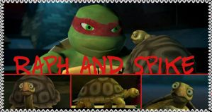 TMNT:: Raph and Spike by Culinary-Alchemist