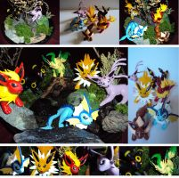 Eeveelutions by chow-marco