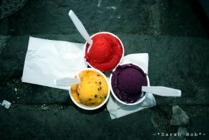 : Les glaces : by SarahBob