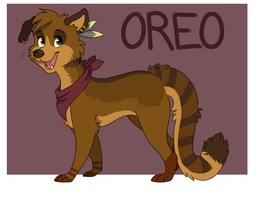 Oreo Ref 2013 by GemFeathers