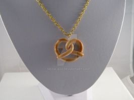 Pretzel Necklace by Meow-Box