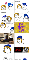 MY HAT *RAGE comic* by MamaGizzy