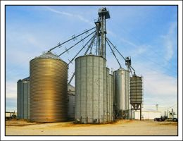 Grain silos. 800-1926, with story by harrietsfriend