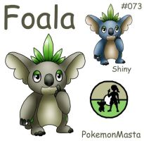 Foala 073 by PokemonMasta