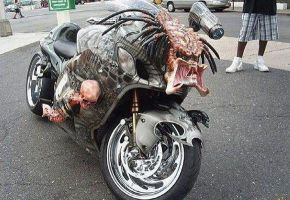 Predator Custom Motorcycle by papabear7