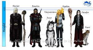 Original characters by Soltia