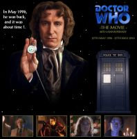 Doctor Who The Movie - 20th Anniversary by DoctorWhoOne