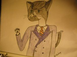 Leon as Furry by luethlover