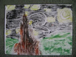print 4 of 10 of Starry Night by Dominick002