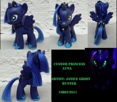 Custom Princess Luna by janiceghosthunter