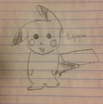 Pikachu Doodle by PrussianSilverDragon