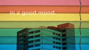 in a good mood by Arunee