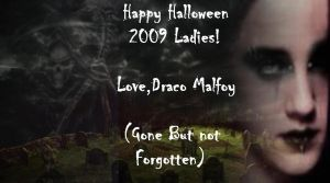 Draco Malfoy Halloween 2009 by alittlegrim